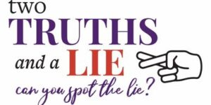 Live Virtual Two Truths and a LIE Game